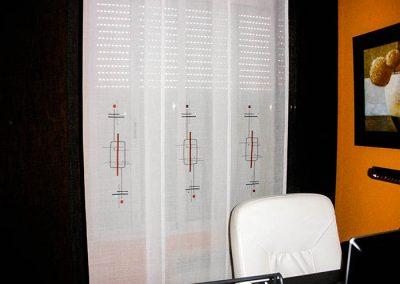 Panel japones con estampados